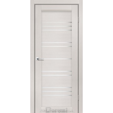 Двери Versal Darumi дуб ольс со стеклом (сатин матовый)