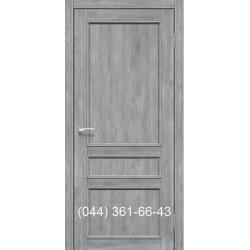 Двері КОРФАД CLASSICO CL-08 (зі штапіком) еш-вайт глухе