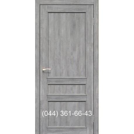 Двери КОРФАД CLASSICO CL-08 (со штапиком) эш-вайт глухое