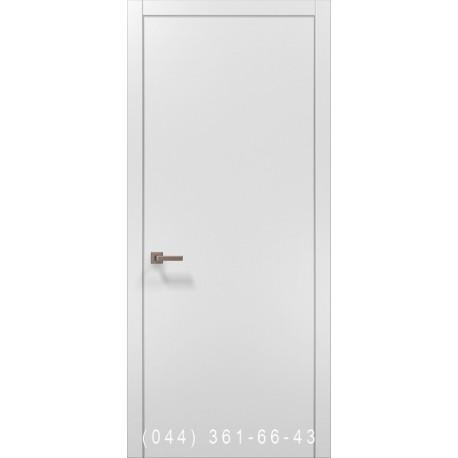 Двері Папа Карло PLATO-01с білий матовий глухе