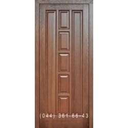 Двери Подольские Турин темный орех глухое