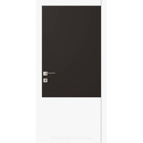 Двері Авангард Futura FТ.1.S зі склом Лакобель біле, чорне або фарбоване по RAL