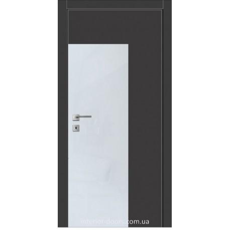 Двері Авангард Futura FТ.2.L зі вставкою шпону шовковистий мат або глянцевий