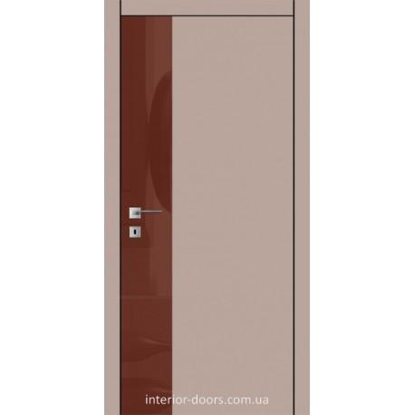 Двери Авангард Futura FТ.9.L со вставкой шпона шелковистый мат или глянцевый