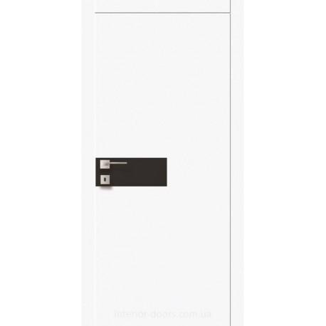 Двері Авангард Futura FТ.11.S зі склом Лакобель біле, чорне або фарбоване по RAL