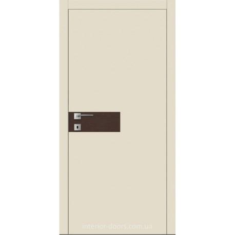 Двери Авангард Futura FТ.11.L со вставкой шпона шелковистый мат или глянцевый
