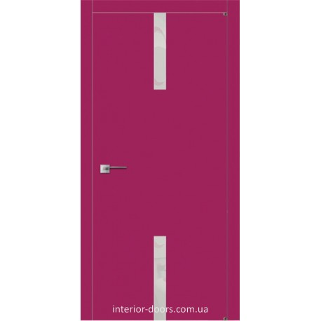 Двері Авангард Futura FТ.13.L зі вставкою шпону шовковистий мат або глянцевий