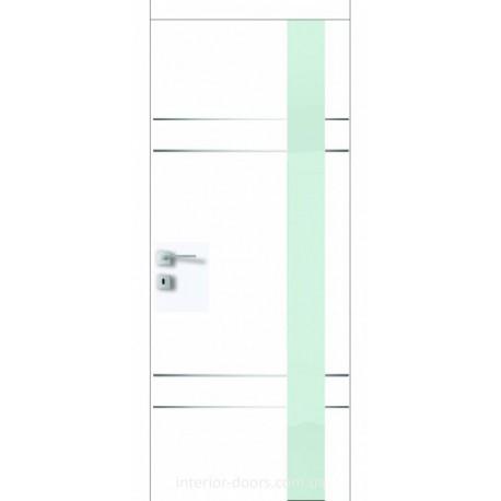Двері Авангард Futura FТ.19.S зі склом Лакобель біле, чорне або фарбоване по RAL