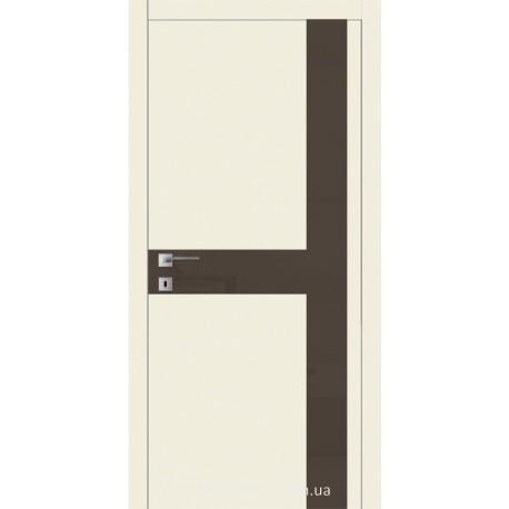 Двері Авангард Futura FТ.20.L зі вставкою шпону шовковистий мат або глянцевий