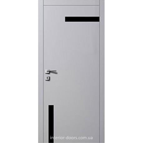 Двері Авангард Futura FТ.13.1.L зі вставкою шпону шовковистий мат або глянцевий