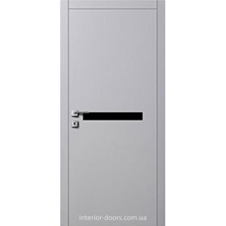 Двери Авангард Futura FТ.13.2.S со стеклом Лакобель белое, черное или крашеное по RAL