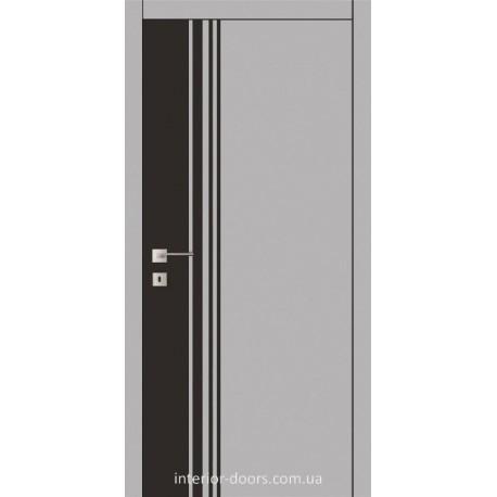 Двери Авангард Futura FТ.22.S со стеклом крашеным по RAL с рисунком
