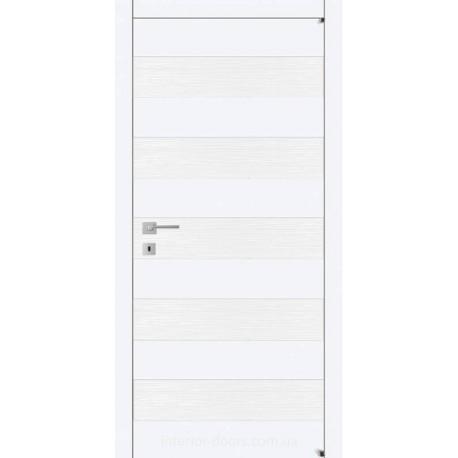 Двері Авангард Style А5.S біле глухе щитове