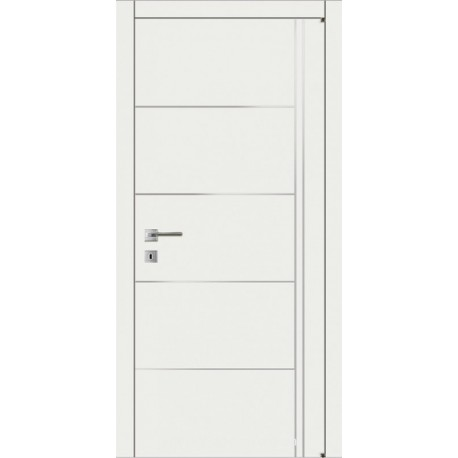 Двері Авангард Style А7.2.M біле з молдингом