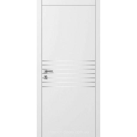 Двери Авангард Style А6.5.M белое с молдингом