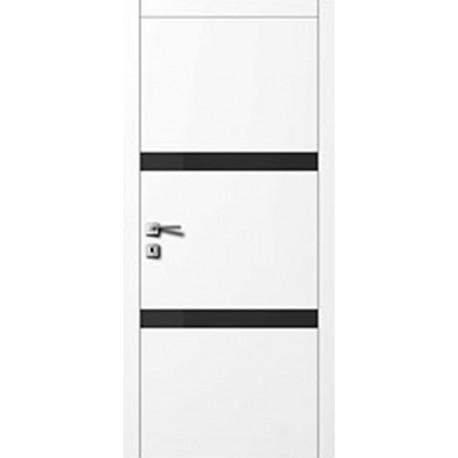 Двери Авангард Style А5.6.S белое со стеклом Лакобель