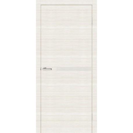 Двери Молдинг М01 Омис дуб Bianco Line глухое + молдинг