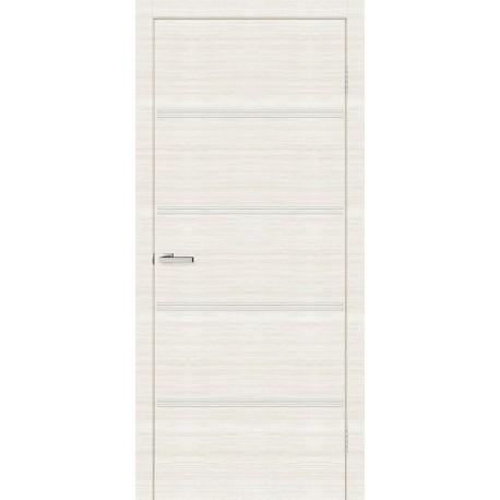 Двері Молдинг М04 Оміс дуб Bianco Line глухе + молдинг