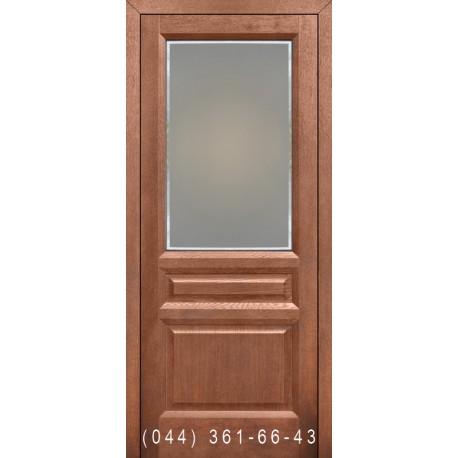 Двери Подольские Максима мокко со стеклом (сатин матовый)