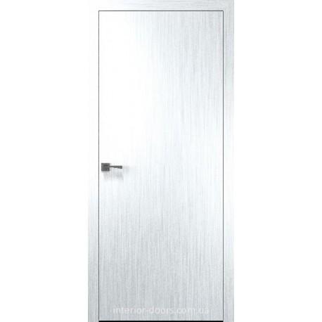Двери Стандарт 40 мм (Колори А) Новый Стиль глухое х-белый (Silk)