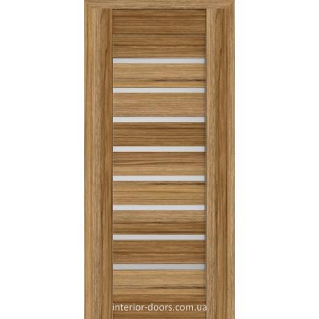 Двері Брама 18.31 дуб катана зі склом (сатин матовий)