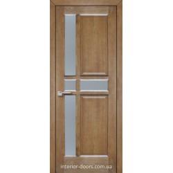 Двері Подільські Базель мокко зі склом (сатин матовий)