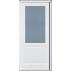 Двери Подольские Виола со стеклом (сатин матовый)