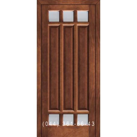 Двери Подольские Мадрид со стеклом (сатин матовый)