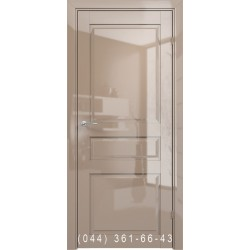 Двери AV-PORTE 01.06 капучино глянец глухое