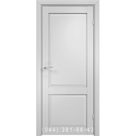 Двері AV-PORTE 01.97 білий матовий зі склом (сатин матовий)