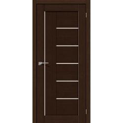 Інтер'єрні Двері Порта 29 венге зі склом (сатин матовий)