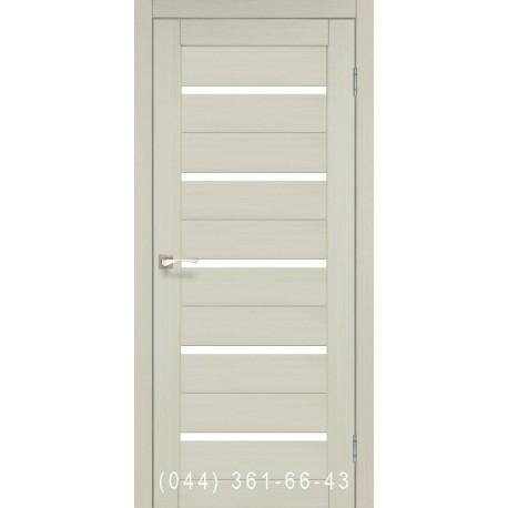 Двери КОРФАД PORTO PR-02 дуб беленый со стеклом (матовое)