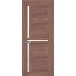 Двери Тринити ольха 3d со стеклом (сатин матовый)