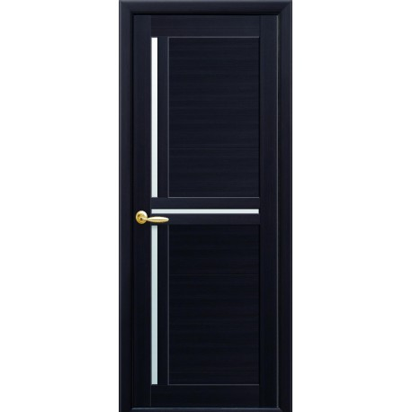 Двері Трініті венге dewild зі склом (сатин матовий)