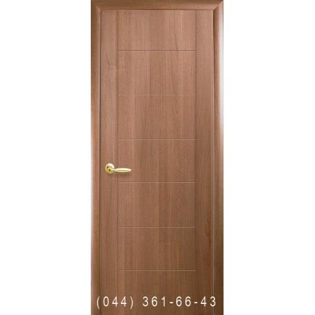 Двери Рина золотая ольха глухое