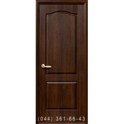 Двері Класік (Фортіс А) горіх premium глухе