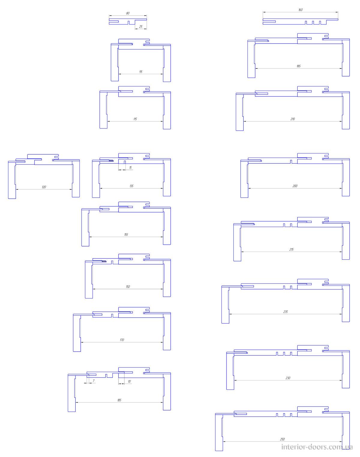 Регулировка коробки PROFI Lux Эмаль