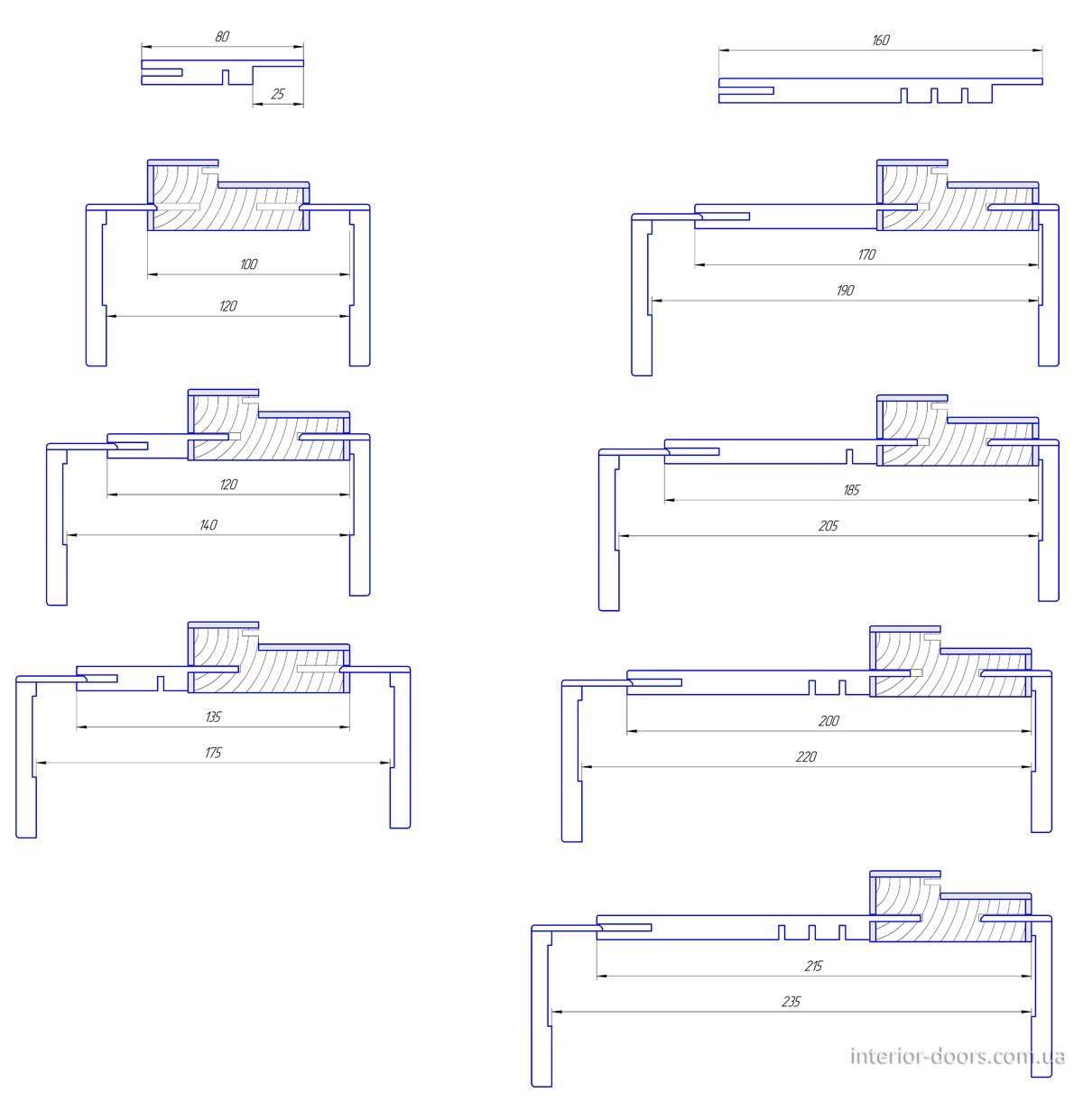 Регулировка коробки Standart Lux Емаль