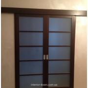 Подвійні розсувні двері фото