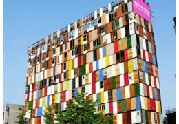 Здания из вторичных материалов