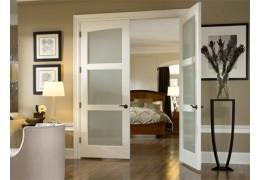 Двустворчатые межкомнатные двери, двойные двери, полуторные двери